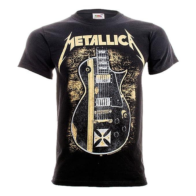 Camiseta guitarra de Metallica (Negro) - XL: Amazon.es: Ropa y accesorios
