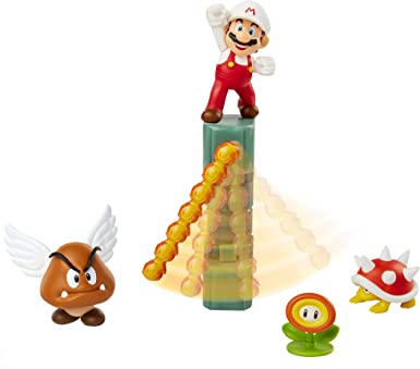 Funko- Set Diorama Castillo De Lava Super Mario Playset con Figuras, Color (400152): Amazon.es: Videojuegos