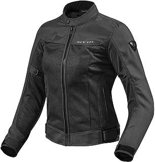1d612aafeee5 Black Piston Motorcycle Jacket Black L (42)  Amazon.co.uk  Sports ...