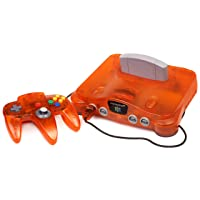 Nintendo 64 System - Video Game Console - Fire (Renewed)
