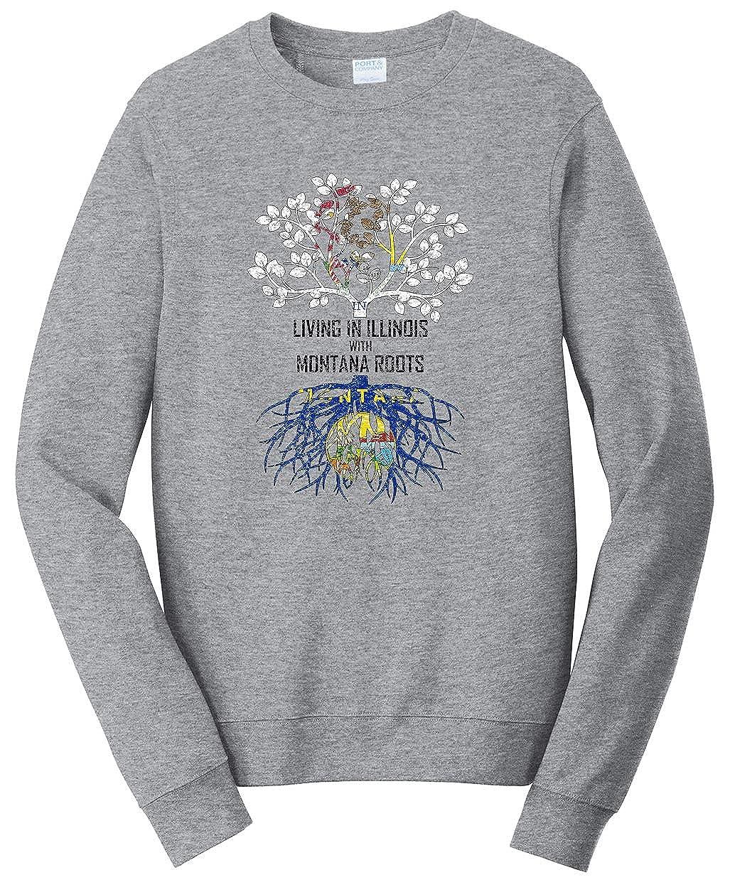 Tenacitee Babys Living in Montana Illinois Roots Shirt