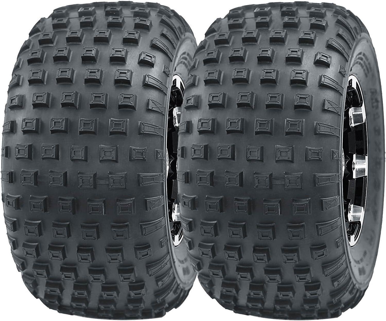 Set of 2 Sport ATV tires go cart tires 16x8-7 16X8X7 4PR