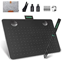 Tablet de desenho Parblo A640 V2 com caneta sem bateria de pressão de 8192 níveis, tablet com caneta de 15,24 x 10,16 cm…