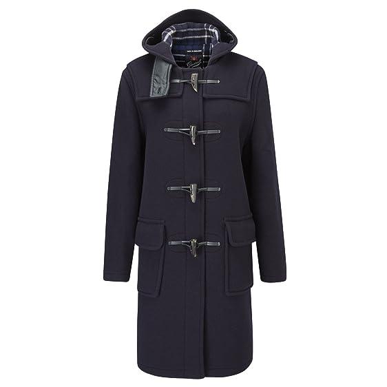 Amazon.com: GLOVERALL Women's Original Duffle Coat 12 Navy: Clothing