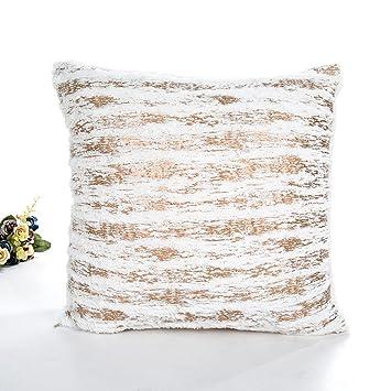 Amazon 40 Crystal Plush Simple Removable And Washable Custom Washable Decorative Pillows