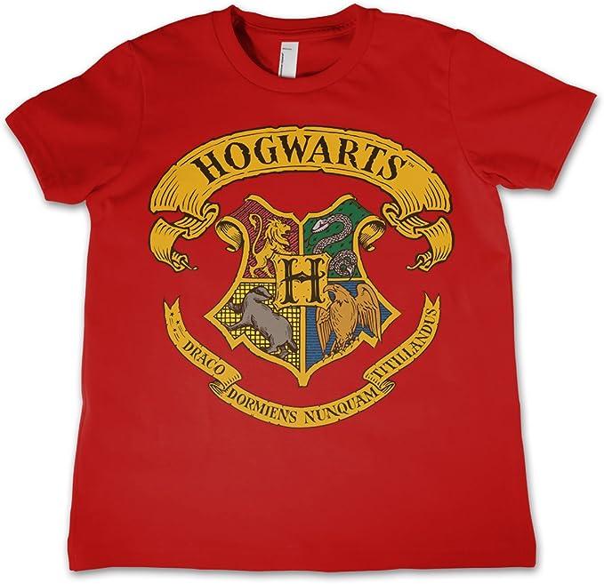 7 5//6 Harry Potter GRYFFINDOR CREST Licensed T-Shirt KIDS Sizes 4