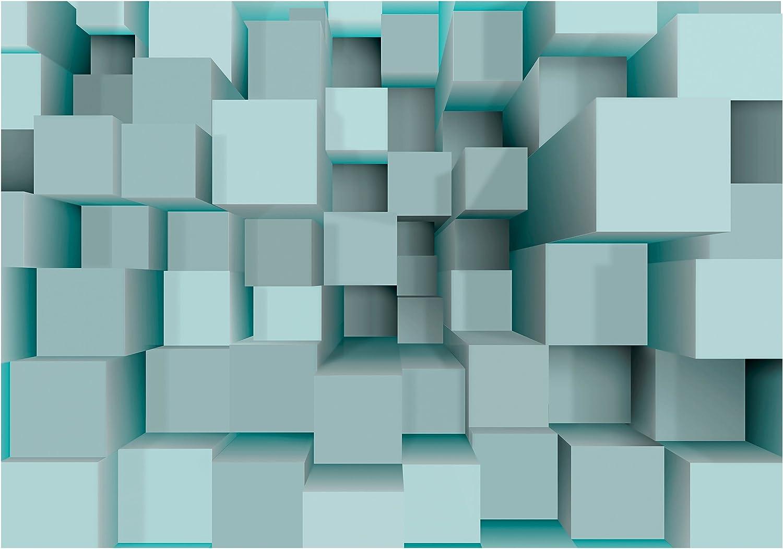 D/éco Mural Tableaux Muraux Photo Moderne G/éom/étrique Papier peint intiss/é 3d Effet 400x280 cm Trompe l oeil decomonkey