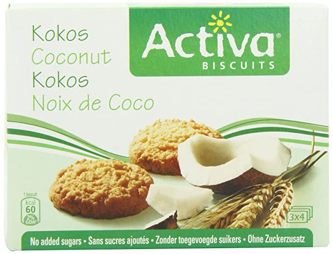 Activa Biscuits - Coconut - 160g