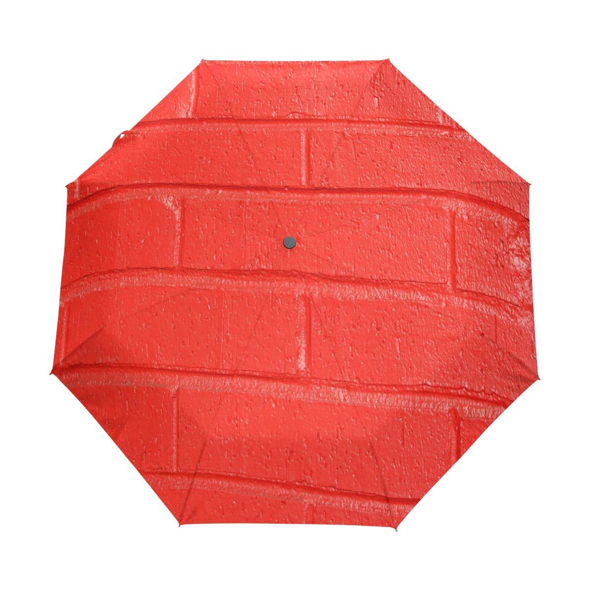 OuLian 傘 レッド ハワイサンセット ゴルフ 旅行 太陽 雨 防風 自動傘 UV保護付き ガールズ ボーイズ キッズ B07QTYYVJ2 パターン1 37.8\