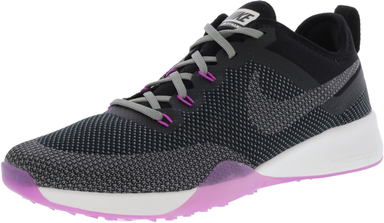 NIKE Women's Air Zoom Dynamic Training Shoe B0086G6YMS 11 B(M) US|Black/Cool Grey-hyper Violet