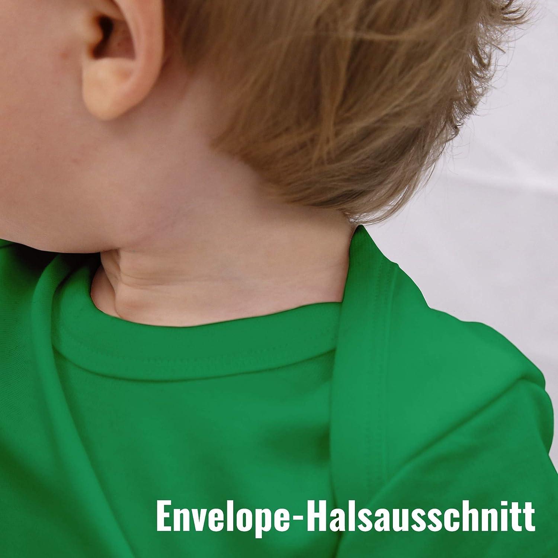 Kleiner Bruder Dinosaurier Shirtracer Baby Body Kurzarm f/ür Jungen und M/ädchen Geschwisterliebe Baby
