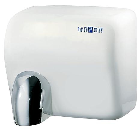 Nofer 01101.w Cyclon secador de Manos automático Capot Acero Inoxidable 30 x 26 x