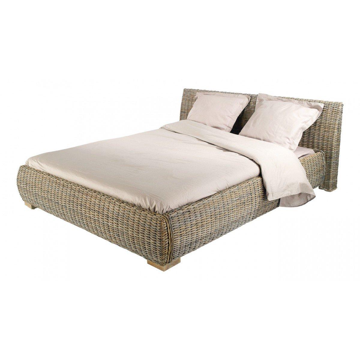 inwood (Manhattan)–Bett aus Kubu 160x 200cm