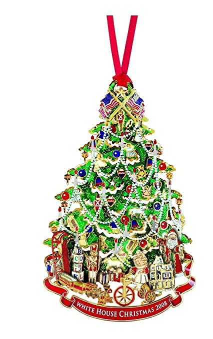 Amazon.com: 2008 White House Christmas Ornament, A Victorian Christmas  Tree: Home & Kitchen - Amazon.com: 2008 White House Christmas Ornament, A Victorian