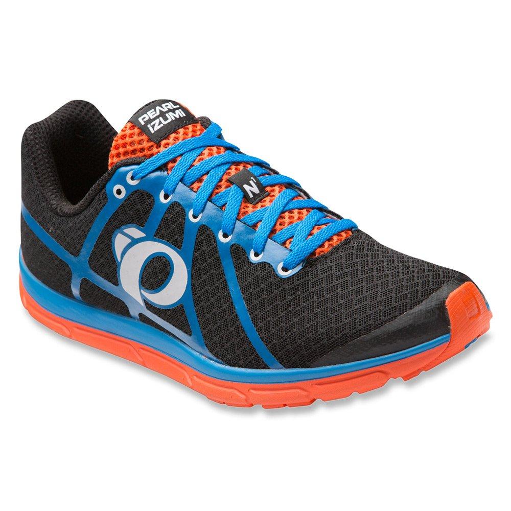 Pearl iZUMi Men's EM Road N1 v2 Running Shoe B011R425KA 7.5 D(M) US Black/Fountain Blue