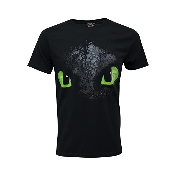 T Shirt Maglietta Maniche Corte Dragons Trainer Hiccup Sdentato Bambino Furia T-shirt, Maglie E Camicie Bambini 2 - 16 Anni
