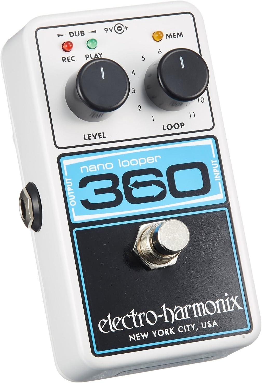 Used Electro-Harmonix EHX Nano Looper 360 Guitar Pedal!