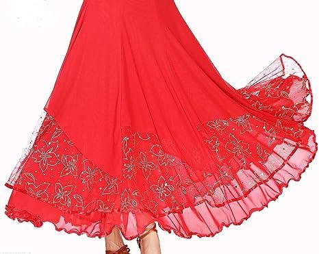 Vestido de Media Longitud de Baile Falda Larga Baile de Hadas ...