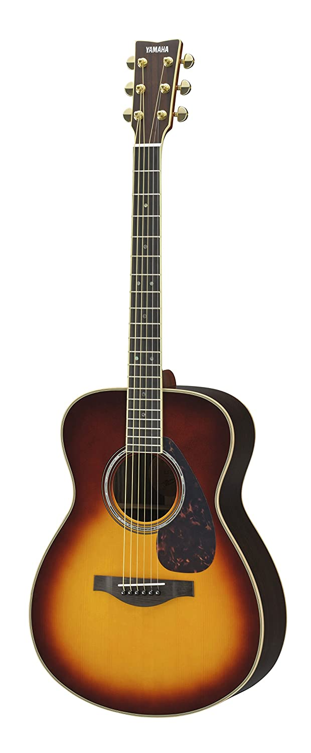 yamaha ll16. amazon.com: yamaha l-series ll16r solid rosewood acoustic-electric guitar w/ case, brown sunburst: musical instruments ll16