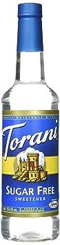 Torani Sugar-Free AndNatural Sweetener Coffee Syrup