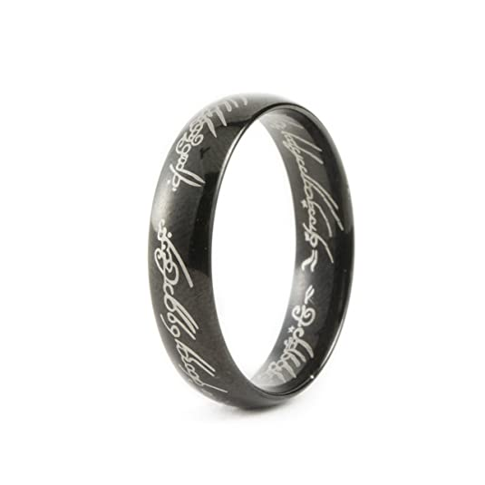 6MM Bague TungsteneSeigneur des AnneauxLORD OF THE RINGS