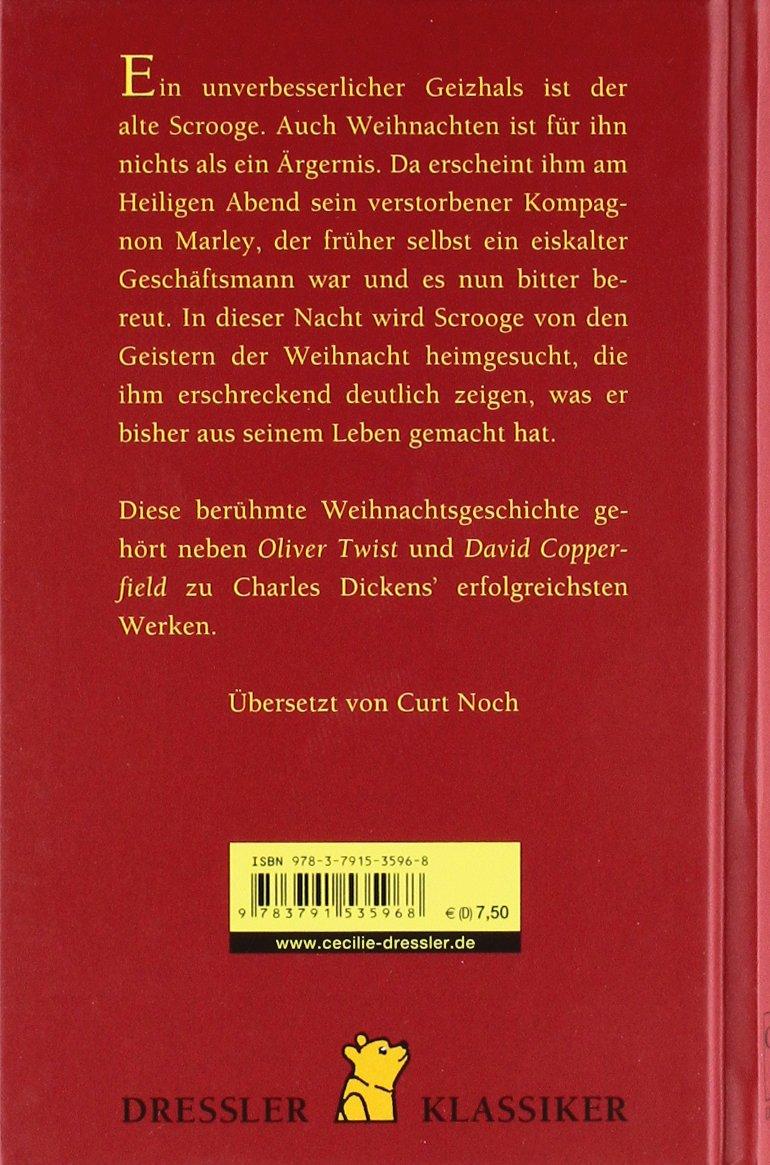 Eine Weihnachtsgeschichte (Dressler Klassiker): Amazon.de: Charles ...