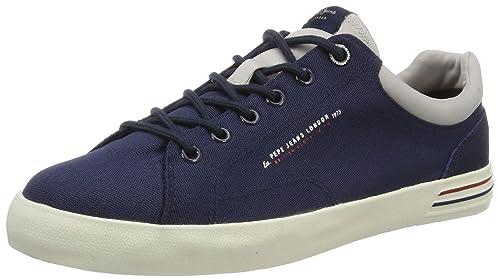 Pepe Jeans London - Zapatillas Hombre, Azul (Navy), 45 (EU)