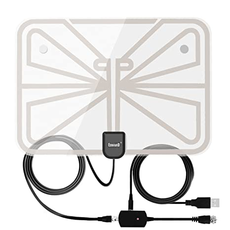 Review Antenna Indoor Amplified TV