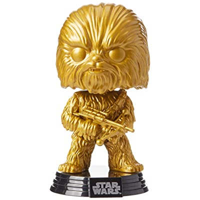 Funko 43023 POP Star Wars: Chewbacca (GP) (MT) Collectible Figure, Multicolour: Toys & Games