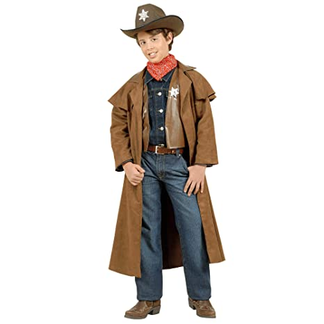 2cde4f1c4ee8d WIDMANN wdm57386   Disfraz para niño Cowboy scamosciati (128 cm 5 ...