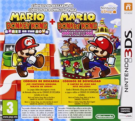 Mario And Donkey Kong / Mario vs. Donkey Kong: Amazon.es ...