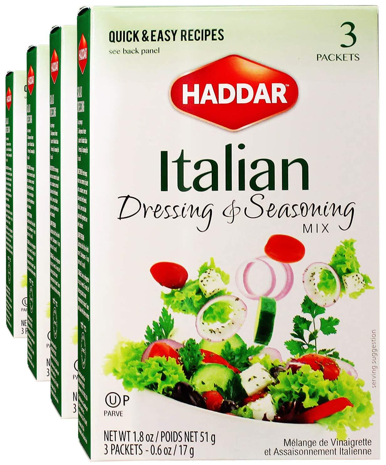 Haddar Gluten Free Italian Dressing Mix