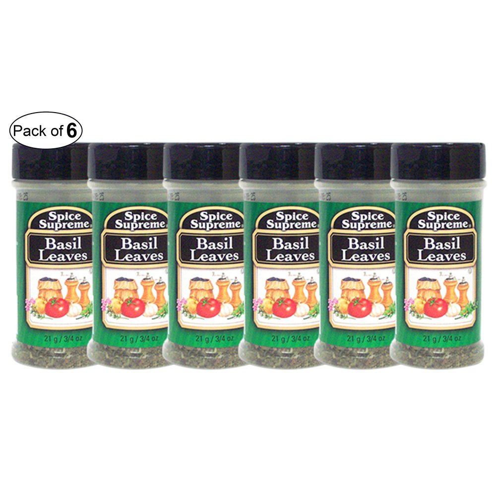 Spice Supreme- Basil Leaves (21g) (Pack of 6)