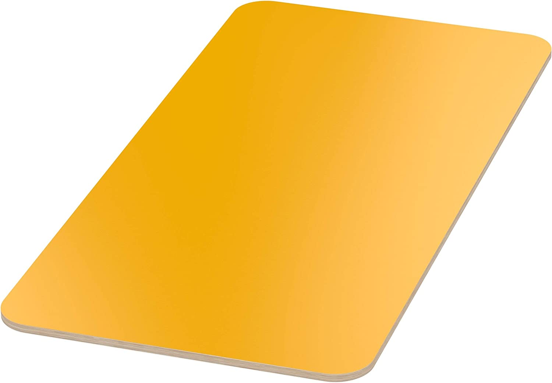 AUPROTEC Tischplatte 18mm wei/ß 2000 mm x 700 mm rechteckige Multiplexplatte melaminbeschichtet von 40cm-200cm ausw/ählbar Birken-Sperrholzplatten Massiv Holz Industriequalit/ät Auswahl 200x70 cm