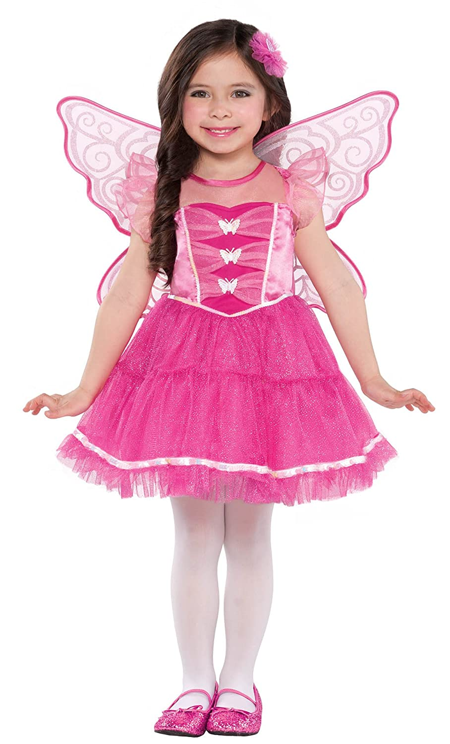 amazon com costumes usa butterfly kisses tod toddler clothing