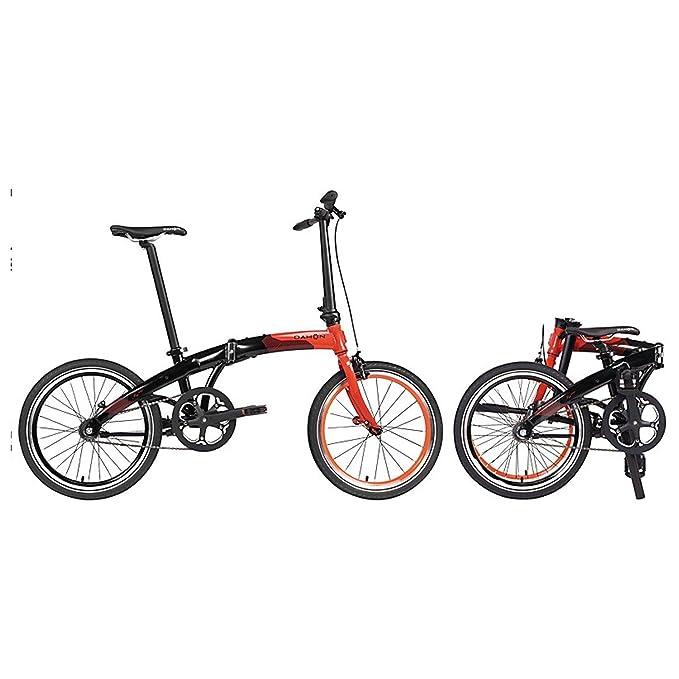 Dahon bicicleta plegable mu Uno 20 pulgadas 1 Gang bicicleta plegable guardabarros portaequipajes, 820844: Amazon.es: Deportes y aire libre