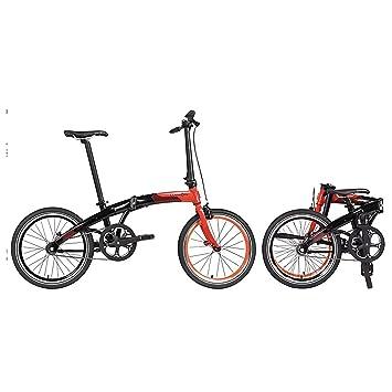 Dahon bicicleta plegable mu Uno 20 pulgadas 1 Gang bicicleta plegable guardabarros portaequipajes, 820844