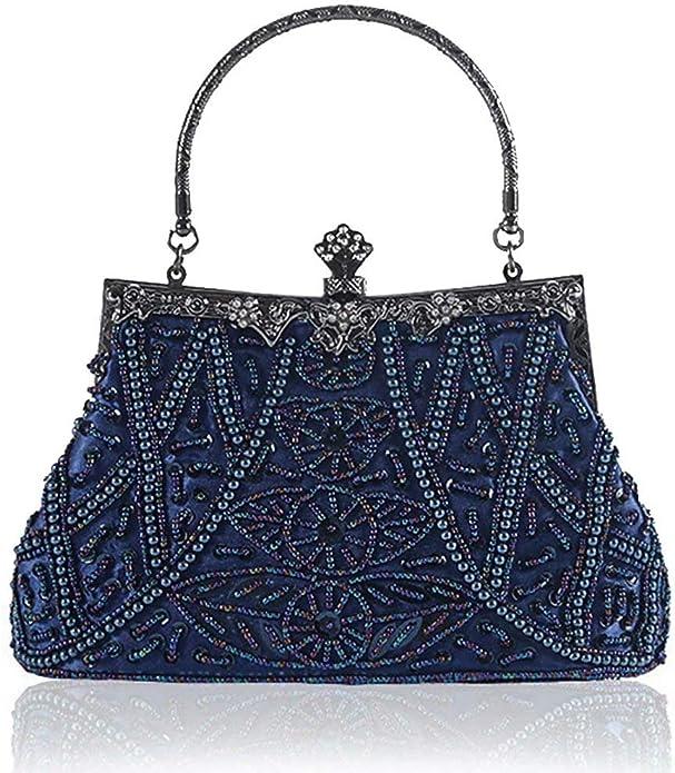 Gatsby Pearl Clutch Handbag