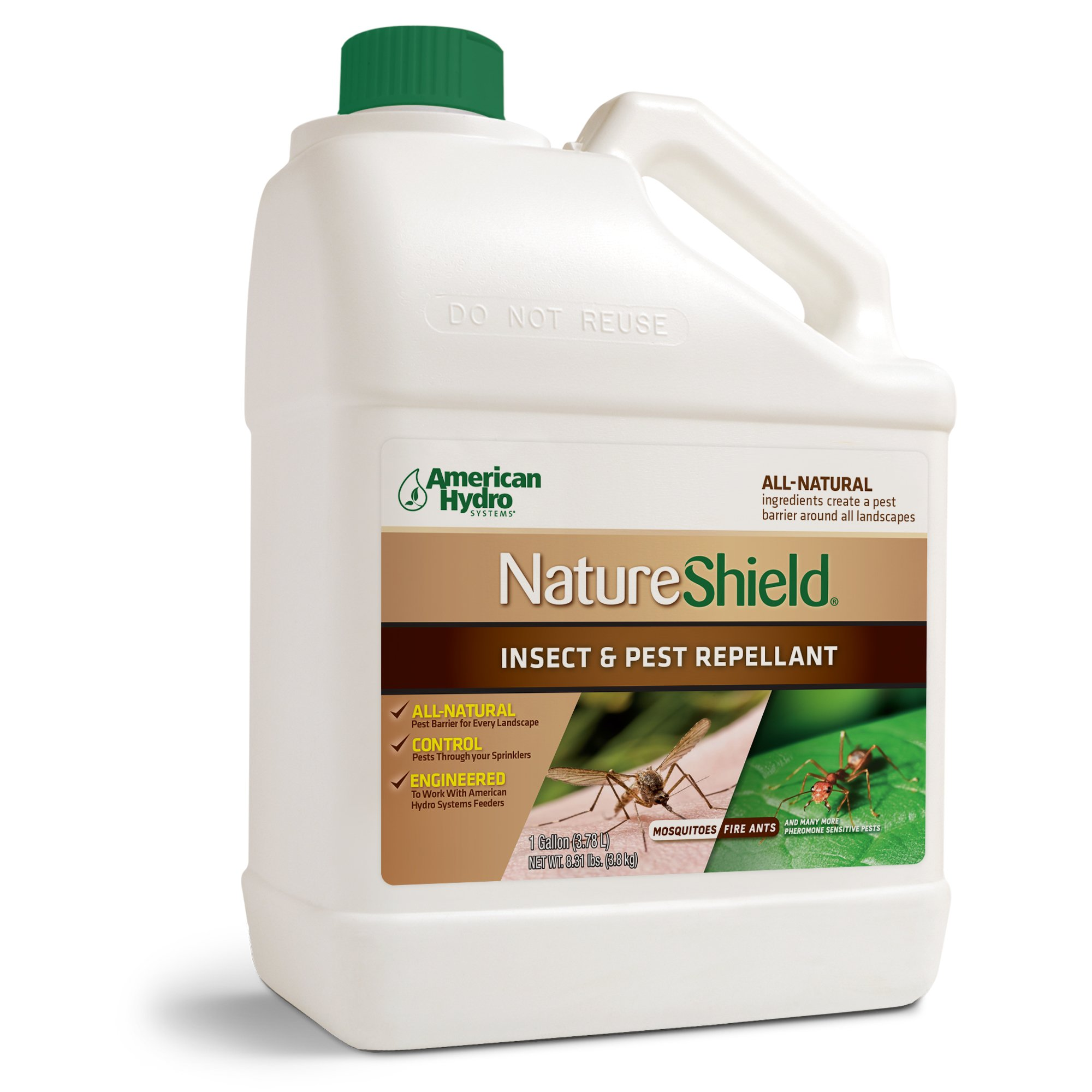 Nature Shield is the Only Pest Control Product on the Market that Integrates a Proprietary Blend of Essential Oils to Create an All-Natural Pest Barrier Around an Entire Landscape. by American Hydro Systems
