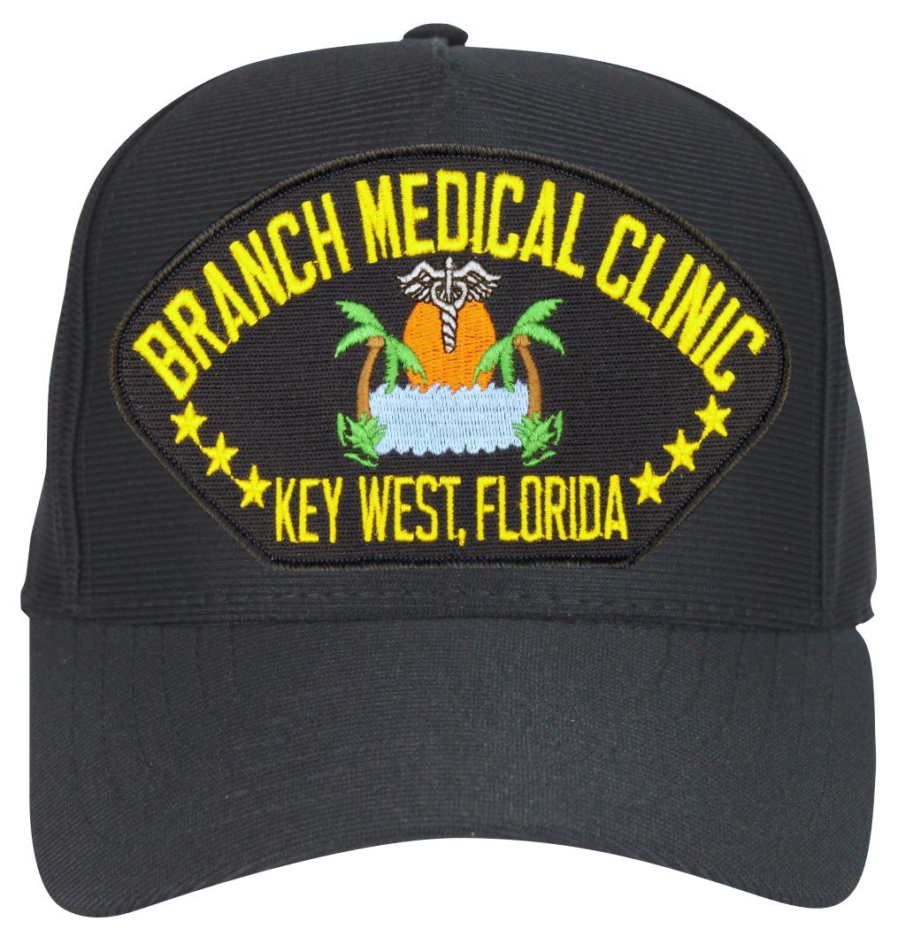 Amazon.com  Branch Medical Clinic  NAS Keywest  Florida Military Ball cap  with Custom Back Text  Sports   Outdoors 931ef099292
