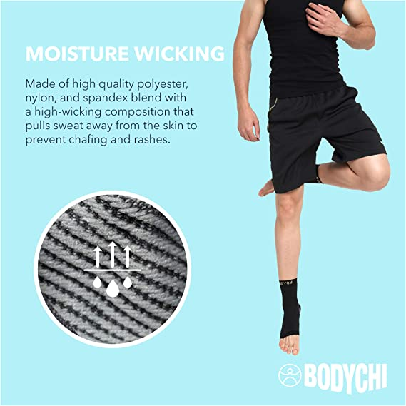 Amazon.com: BODYCHI - Tobillera de compresión sin costuras ...