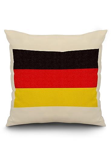 Amazon.com: Alemania País Bandera – Letterpress: Home & Kitchen