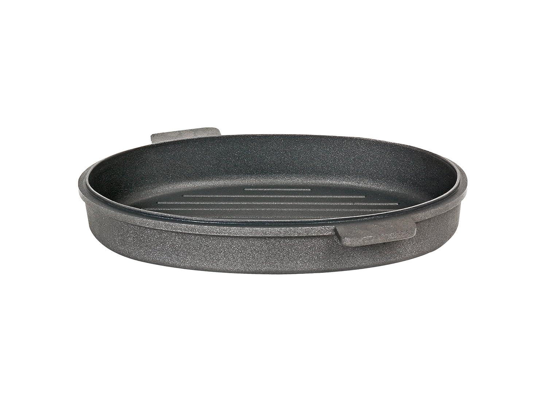 SKK 2651 titanio, ovalados 42 x 28 x 7 cm megafitness-mayor Fischpfanne: Amazon.es: Hogar