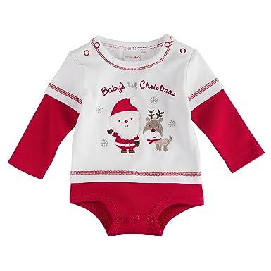 Bornino Le body T-shirt de Noël bébé  BORNINO  Amazon.fr  Vêtements ... 43a1eb8a344
