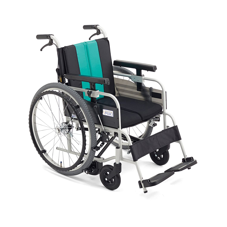 MiKi(ミキ)自動ブレーキ付車椅子 MBY-41B ロータイプ (イエロー) B00RGFCPXW イエロー イエロー