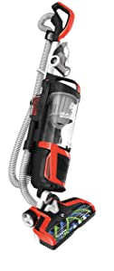Dirt Devil Razor Vac Bagless Multi Floor Corded Upright Vacuum Cleaner with Swivel Steering, UD70350B Red