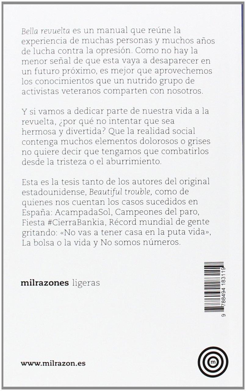 Bella Revuelta: la caja de herramientas para hacer la Revolución: Sin_dato: 9788494183119: Amazon.com: Books