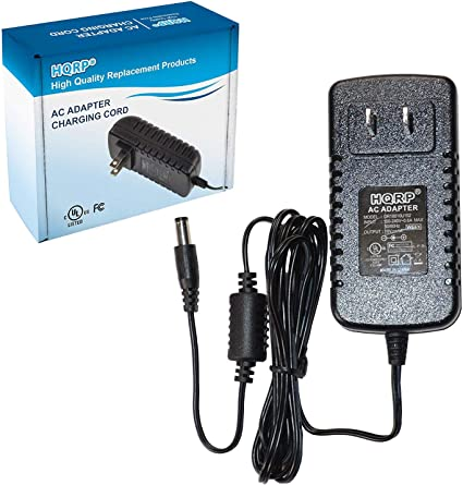 5/Feet,/with/LED/Indicator Fav-Tech AC Adapter Power Supply for Elmo 5ZA0000036 5ZA0000104C Document Camera Charger