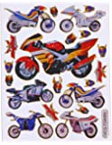 Stickers moto autocollants moto autocollants enfants autocollants paques stickers planche 2 feuilles