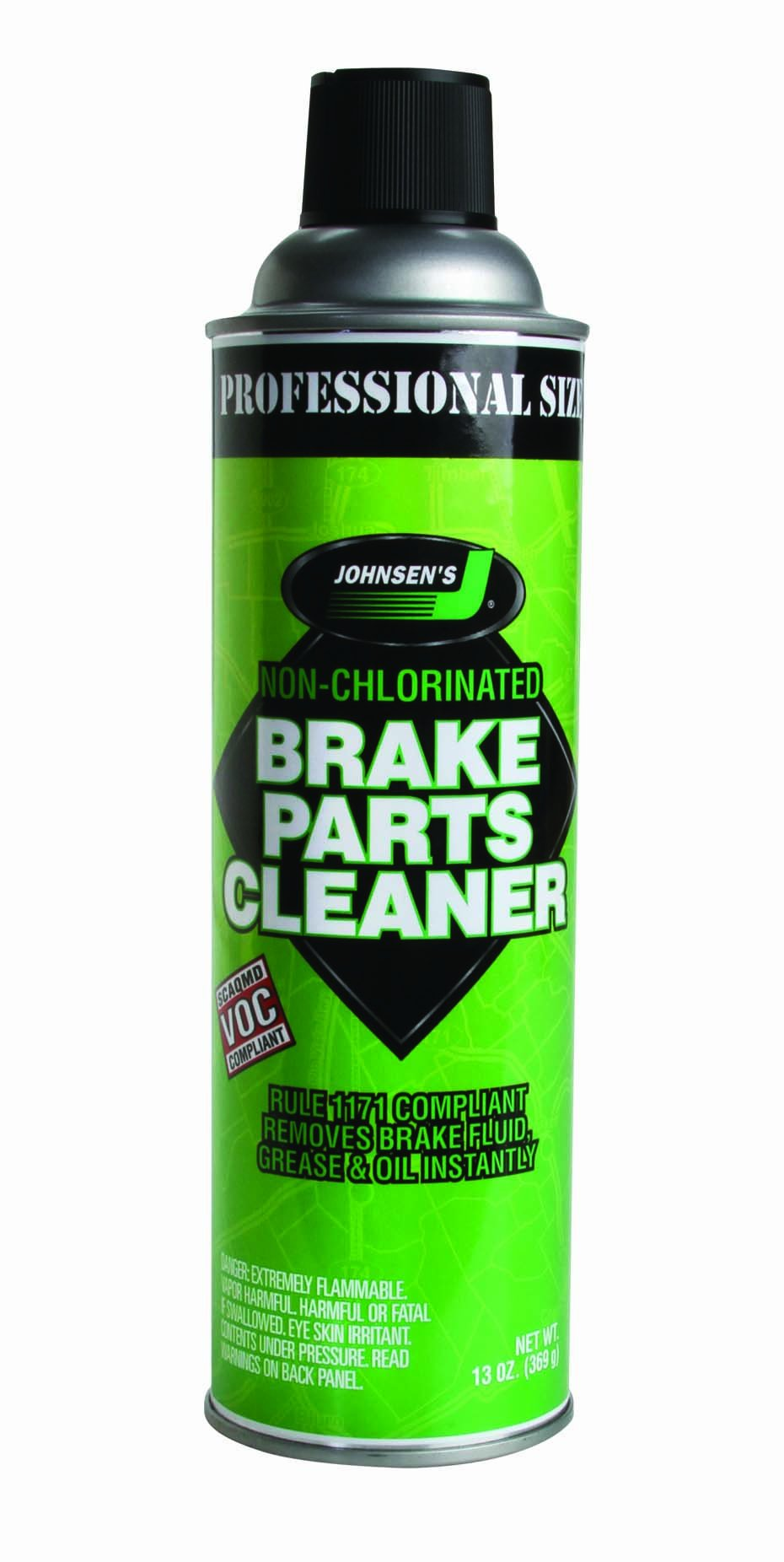 Johnsen's 2421-12PK Non-Flammable Brake Parts Cleaner - 13 oz., (Pack of 12)